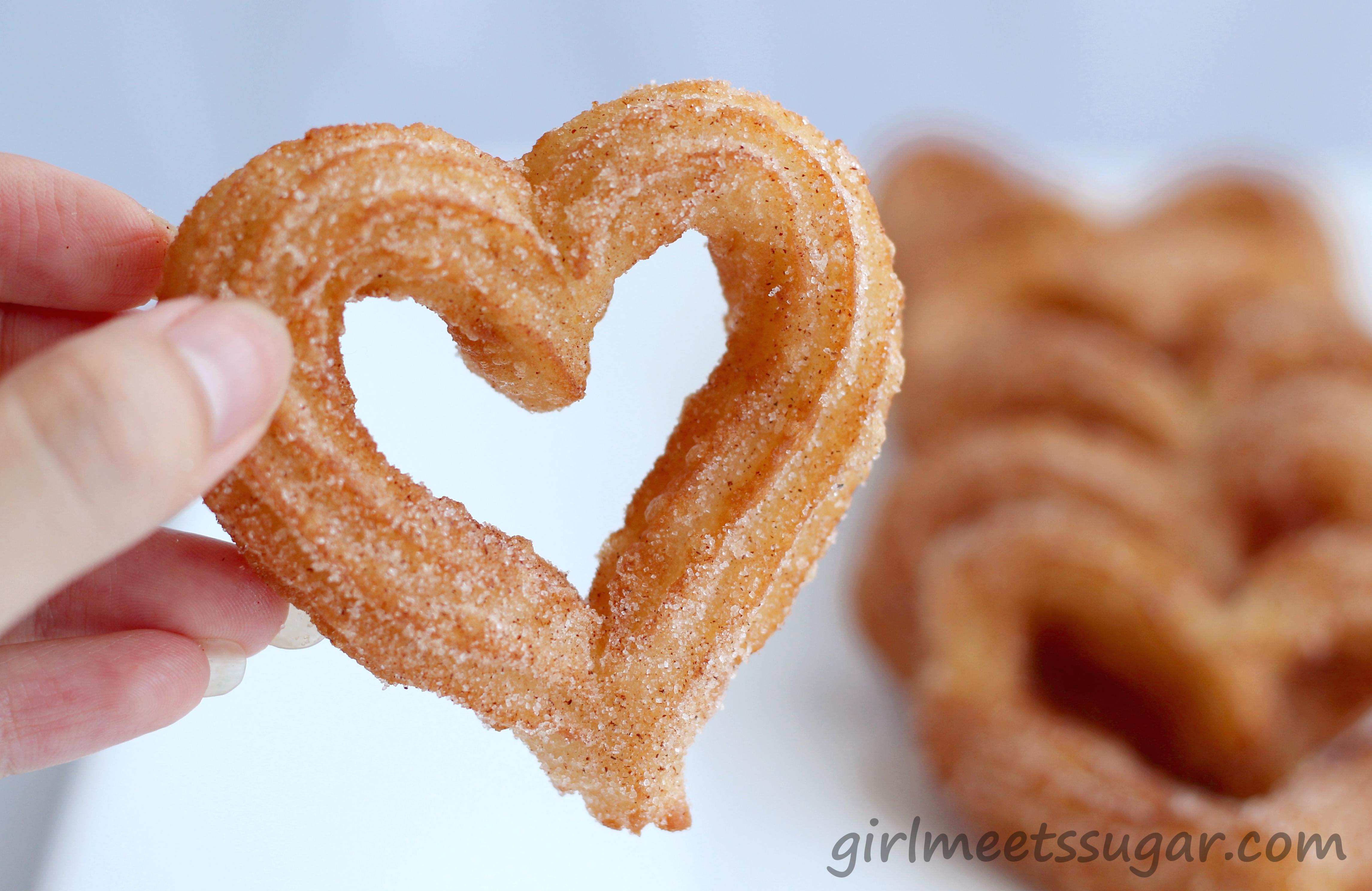 Valentine's Day Churros (serves 4)